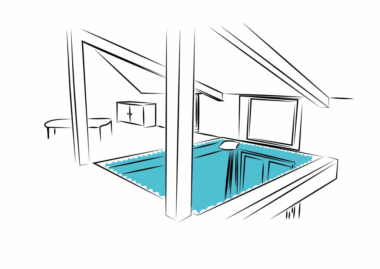 Filet intérieur habitation