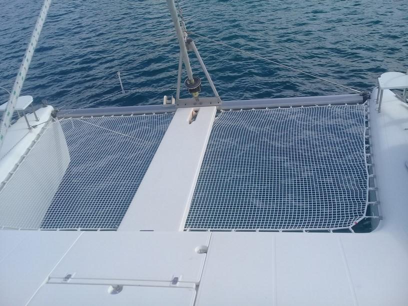 filet bateau catamaran sur mesure