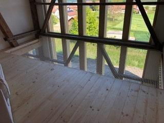 filet d'habitation baies vitrées