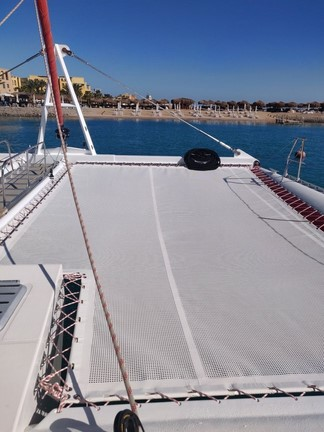 filet sur mesure catamaran