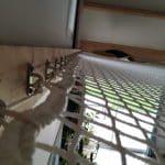 filet mezzanine fixation ossature bois