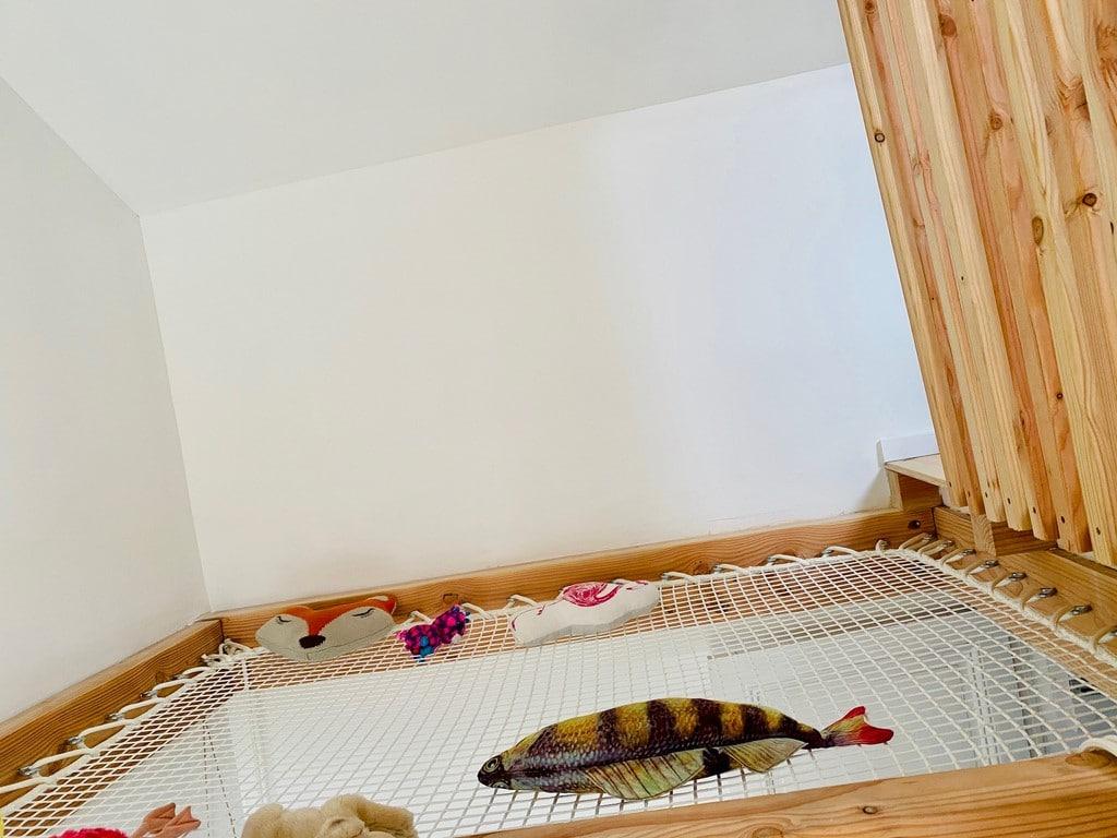 Filet d'interieur cadre bois